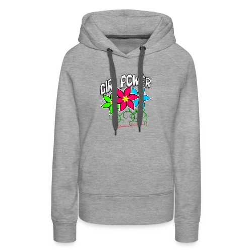 Girl Power: Lotus Flowers - Women's Premium Hoodie