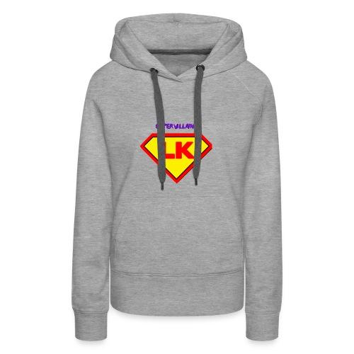 Supervillain by Lil Kodak - Women's Premium Hoodie