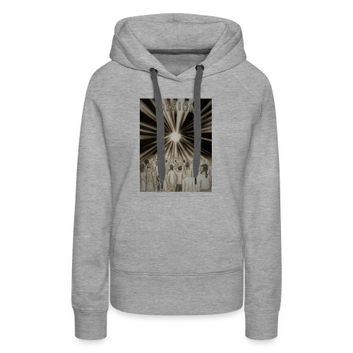 Black_and_White_Vision2 - Women's Premium Hoodie