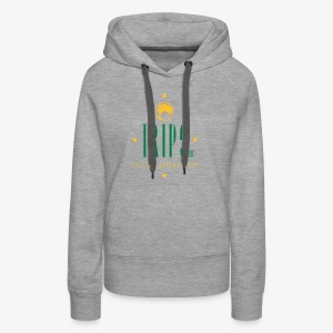 Original Trips Inc.™ Logo Multicolored Design - Women's Premium Hoodie