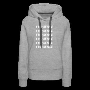 '1-800-Be Nice' Collection - Women's Premium Hoodie