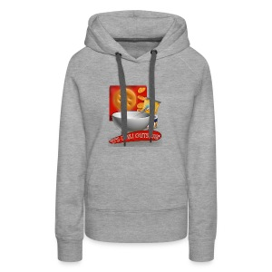 Its Chili Outside merchandise by Haut. - Women's Premium Hoodie
