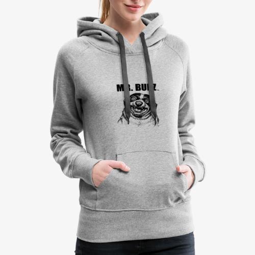 Sketchy Mr. Bubz - Women's Premium Hoodie