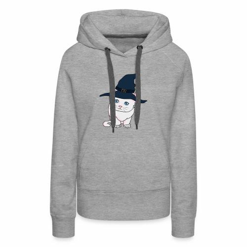 Witch Cat - Women's Premium Hoodie