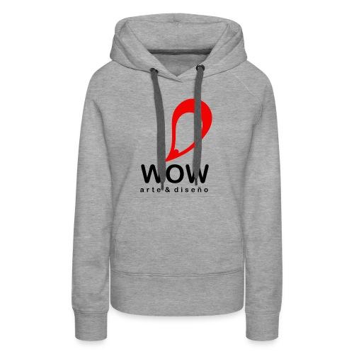 wow design cloth - Women's Premium Hoodie