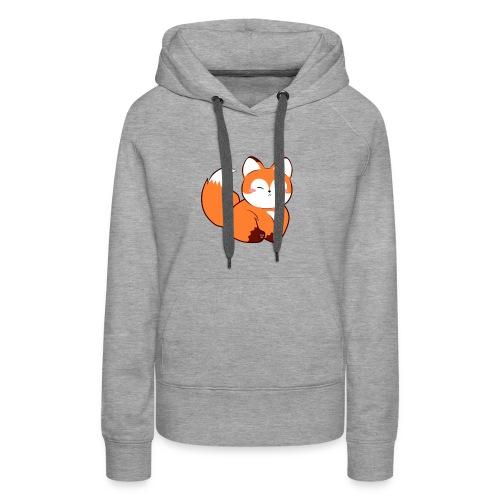 fat little baby fox - Women's Premium Hoodie