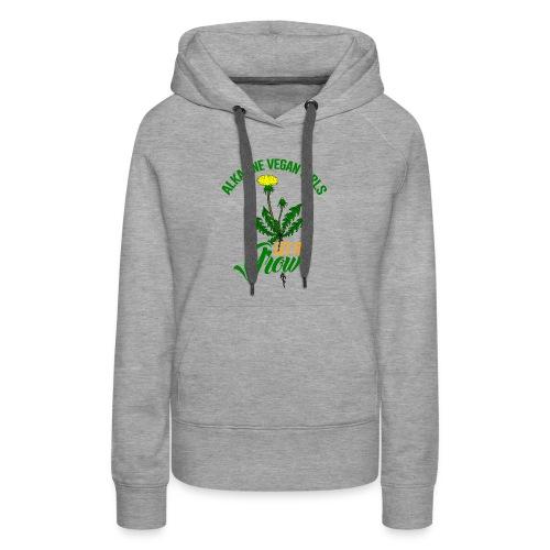 Alkaline Vegan Girls Women's T-Shirt - Women's Premium Hoodie