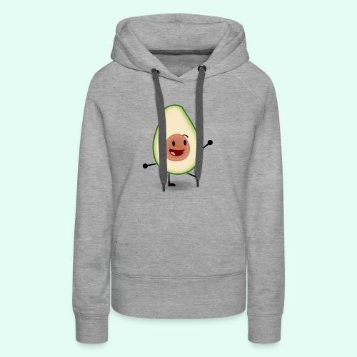 Happy Avocado - Women's Premium Hoodie