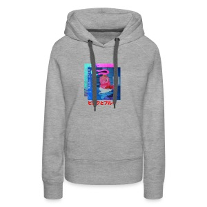 Pink and Blue - Women's Premium Hoodie