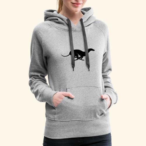 X Racing Greyhound Track Dog Running - Women's Premium Hoodie