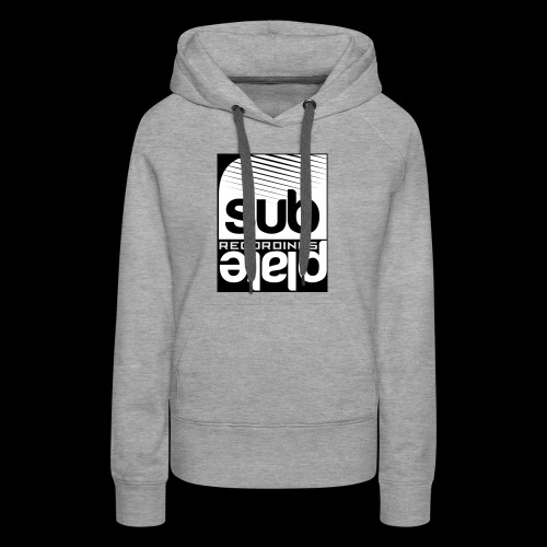 Subplate Recordings - Logo Black - Women's Premium Hoodie