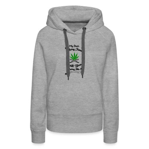 Mary Jane Weed 420 Marijuana - Women's Premium Hoodie