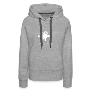 I don't like Guns collection #1 (white) - Women's Premium Hoodie