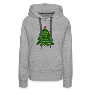 you are all I want, not money, for Christmas - Women's Premium Hoodie