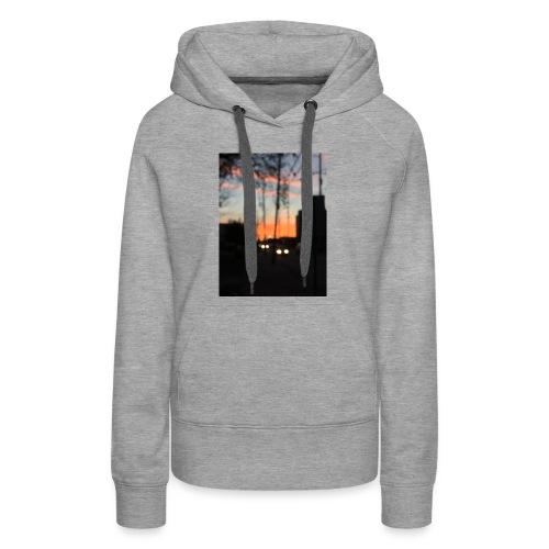 A blurry sunset - Women's Premium Hoodie