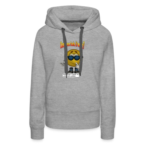 Lost For Words - Women's Premium Hoodie
