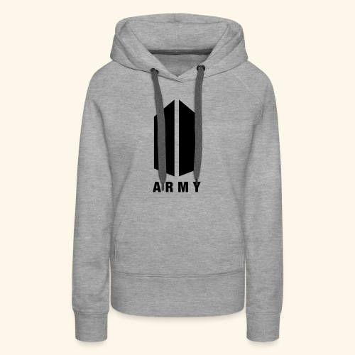 BTS ARMY MERCH - Women's Premium Hoodie
