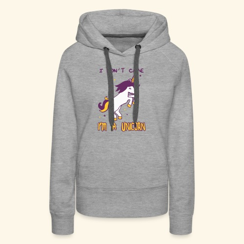 Limited Edition : T-Shirt I'M A UNICORN - Women's Premium Hoodie