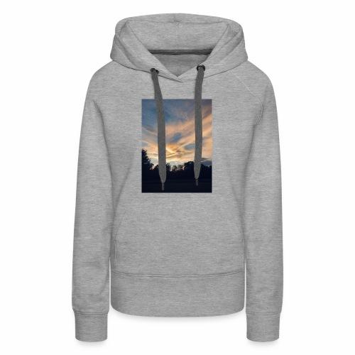 Fall sunset - Women's Premium Hoodie