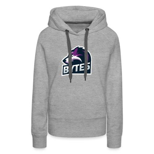 BYTE5 (Large Logo) - Women's Premium Hoodie