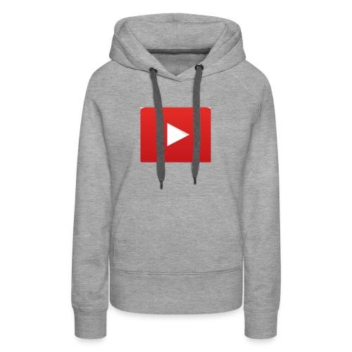Youtube Logo! - Women's Premium Hoodie