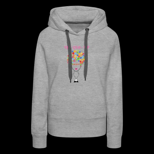 THE GLO- UP - Women's Premium Hoodie