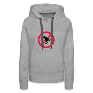 No Dog Poop - Women's Premium Hoodie
