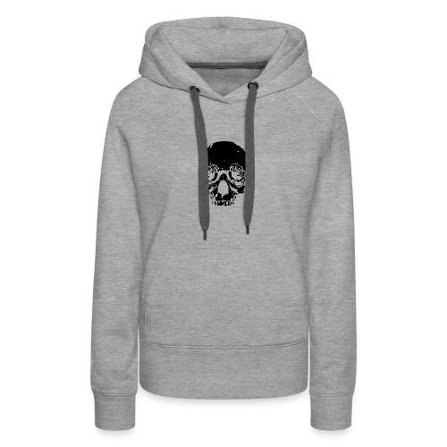 Skull rose - Women's Premium Hoodie
