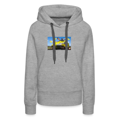 Tank Demolisher - Women's Premium Hoodie