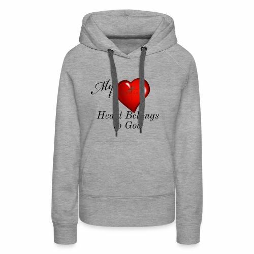 My Heart T Shirt - Women's Premium Hoodie