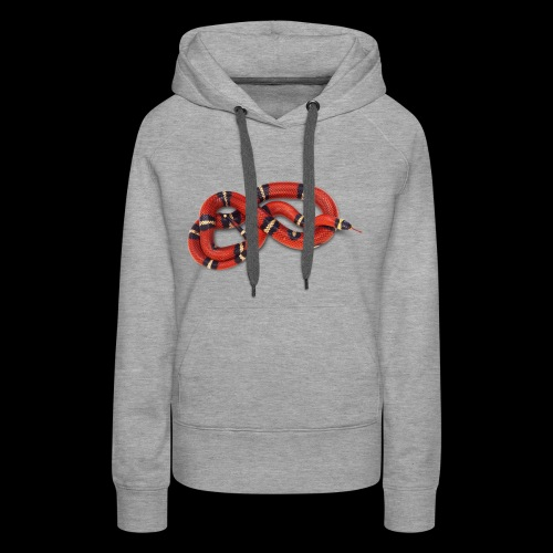Red Snake - Women's Premium Hoodie