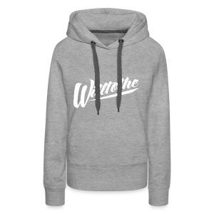 Willtothe Logo White - Women's Premium Hoodie