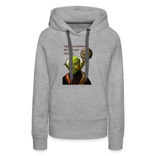Yoda Bernie - Women's Premium Hoodie