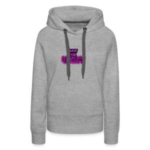 Want for Nothing Purple - Women's Premium Hoodie