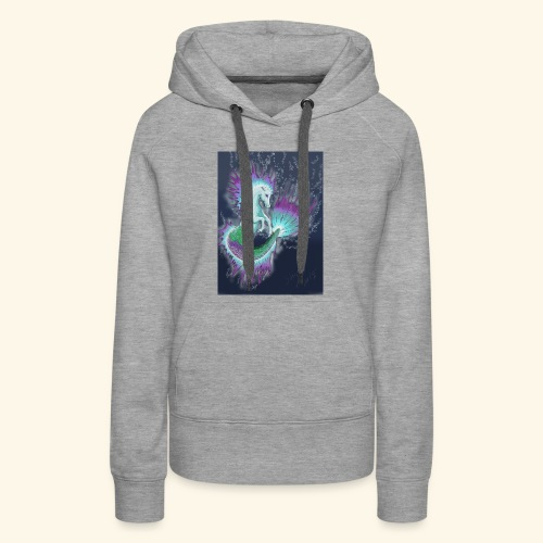 fantasy sea horse - Women's Premium Hoodie