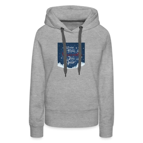 Winter Theme - Women's Premium Hoodie