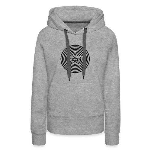 Stars and circles - Women's Premium Hoodie