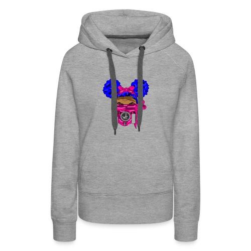 Blue Top - Pink Maks - Women's Premium Hoodie