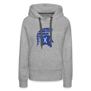 Spartans Tech Blue - Women's Premium Hoodie