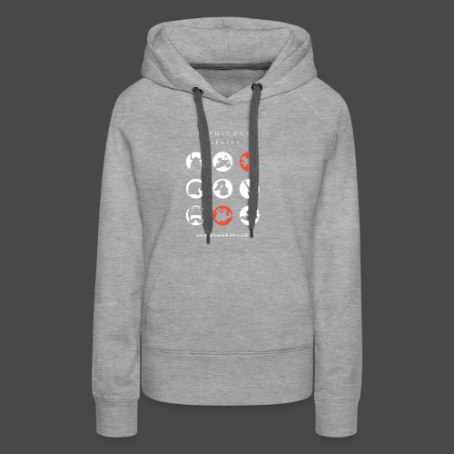 Twenty-Øne Pirates: UnfocusedFace Official Logo - Women's Premium Hoodie