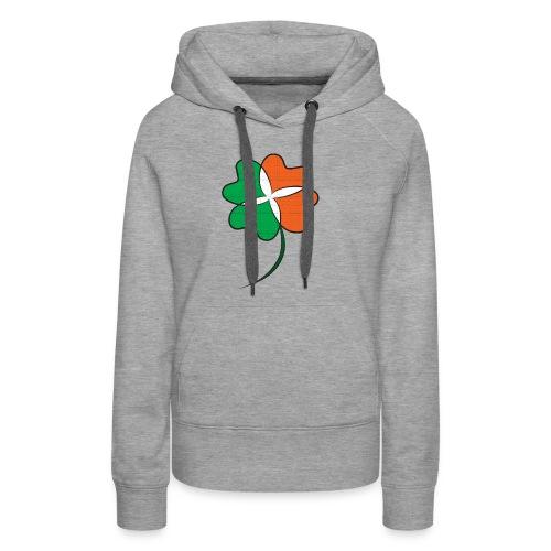 Irish Clover - Women's Premium Hoodie