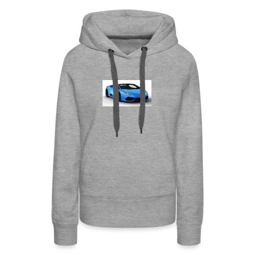 lambo huracan roadster rendering ts 4 - Women's Premium Hoodie