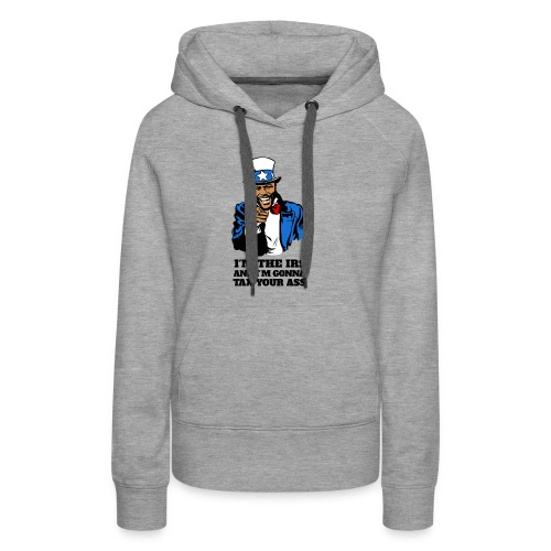 Floyd Mayweather - Im The IRS - Uncle Sam (Light) - Women's Premium Hoodie