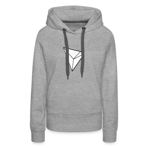 Tronix Cryptocurrency of the future - Women's Premium Hoodie