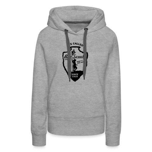 BOY Scouts is for BOYS - Women's Premium Hoodie