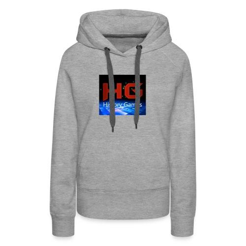 Nuevo logo History Games - Women's Premium Hoodie