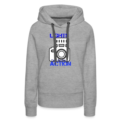 THE LIGHT IS ONE YOU - Women's Premium Hoodie