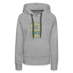 BORN In 1977 Year of Legends 40th - Women's Premium Hoodie