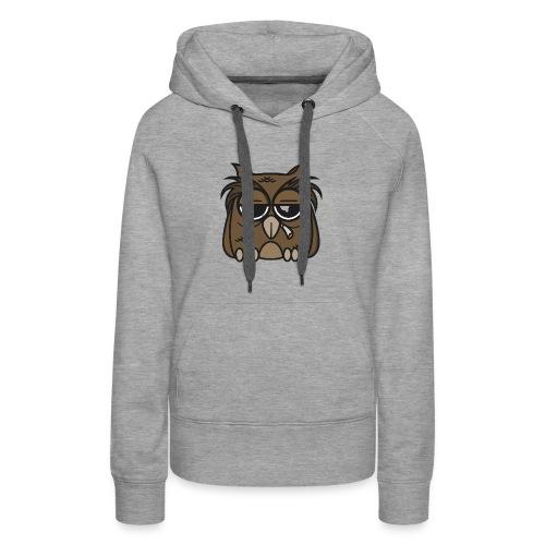 Smoking Owl - Women's Premium Hoodie