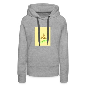 Lit Boys Don't Care merch - Women's Premium Hoodie
